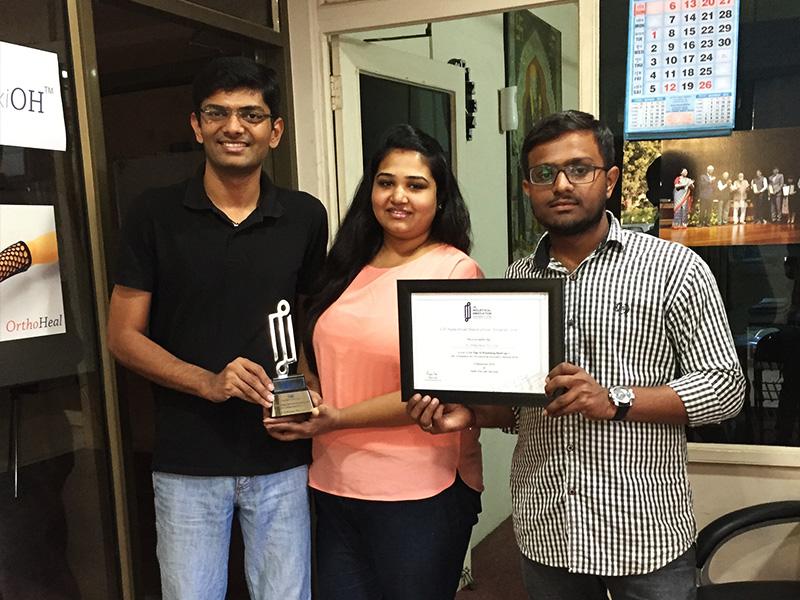 OrthoHeal CII Award 2016 04