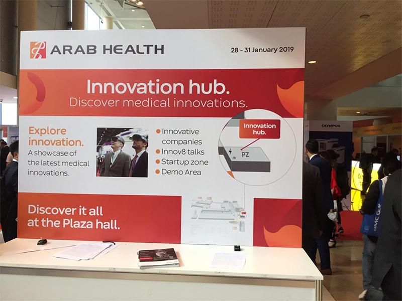 OrthoHeal at Arab Health 2019