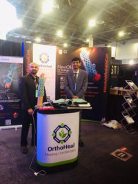 OrthoHeal at AAOS 2019 for the first time