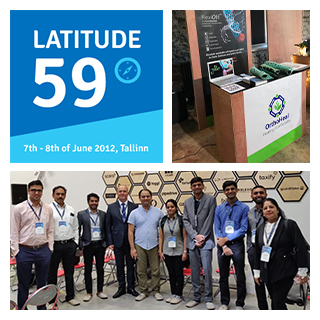 OrthoHeal at Latitude 59 event