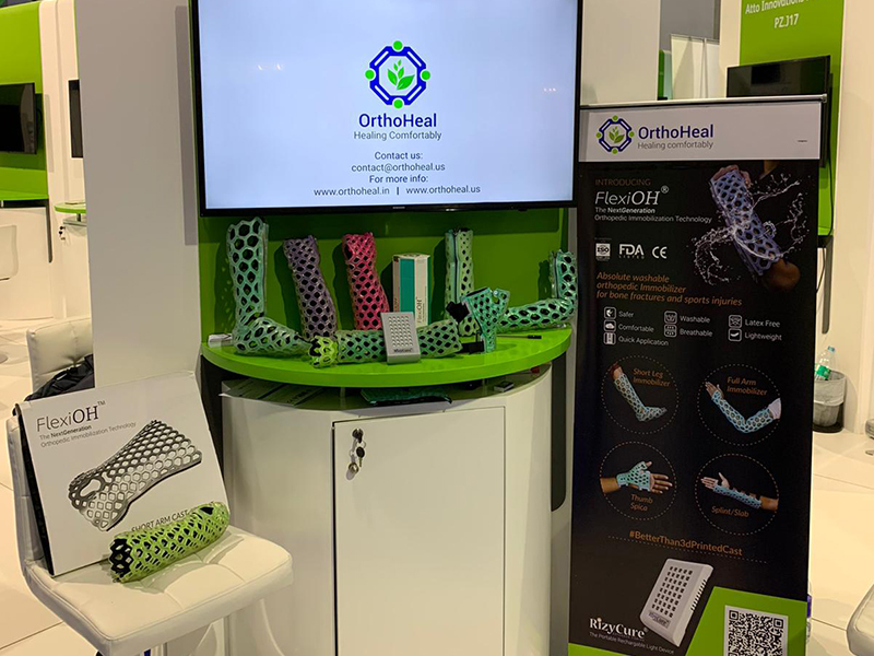 OrthoHeal at Arab Health 2020, Dubai