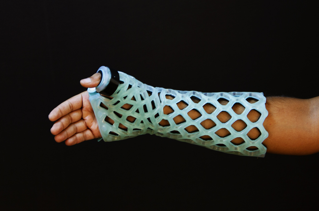 Long Thumb Spica Immobilizer